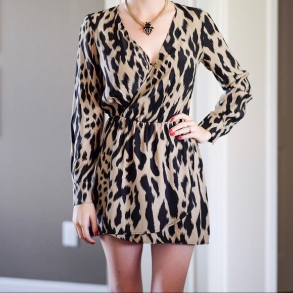 Parker Dresses & Skirts - Parker silk animal print dress. Make an offer!
